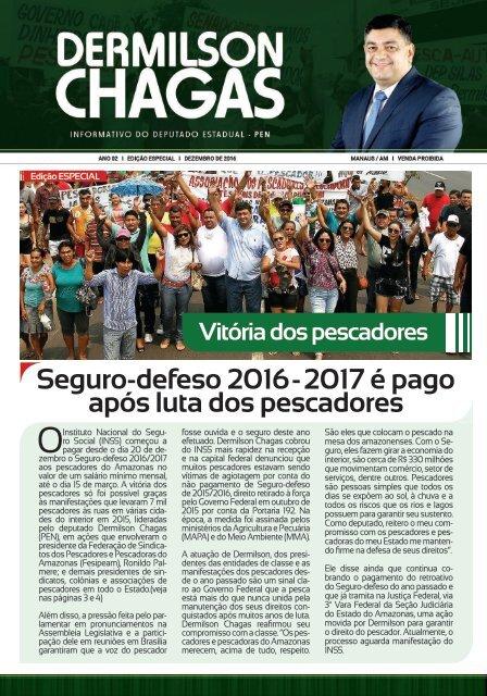INFORMATIVO DEPUTADO DERMILSON CHAGAS