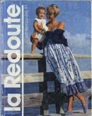 1991 LA REDOUTE PRINTEMPS-ETE MAIL ORDER CATALOGUE ON DVD