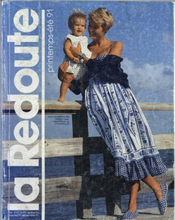 1991 LA REDOUTE PRINTEMPS-ETE MAIL ORDER CATALOGUE ON DVD