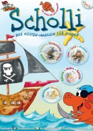 SCHOLLI - Das Küsten-Magazin für Kinder 2015