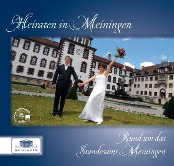 Heiraten in Meiningen