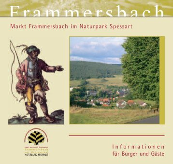 Informationen für Bürger und Gäste Markt Frammersbach im ...