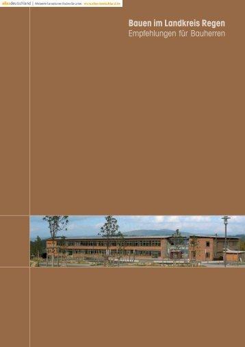 Bauen im Landkreis Regen