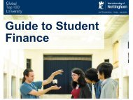 Guide to Student Finance