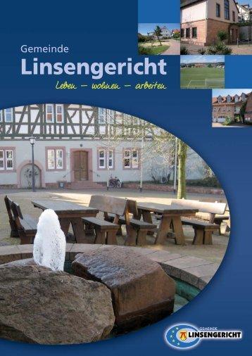 Bürger-Informationsbroschüre der Gemeinde Linsengericht