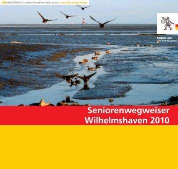 Seniorenwegweiser Wilhelmshaven 2010 - Telefonnummer anzeigen