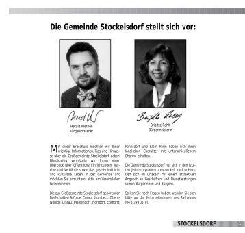 Die Gemeinde Stockelsdorf stellt sich vor: