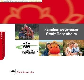 Familienwegweiser Stadt Rosenheim