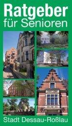 Ratgeber für Senioren der Stadt Dessau-Roßlau