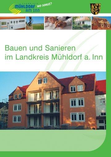 Bauen und Sanieren im Landkreis Mühldorf a. Inn
