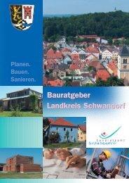 Planen. bauen. Sanieren. - Bauratgeber für den  Landkreis Schwandorf