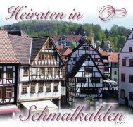 Heiraten in Schmalkalden