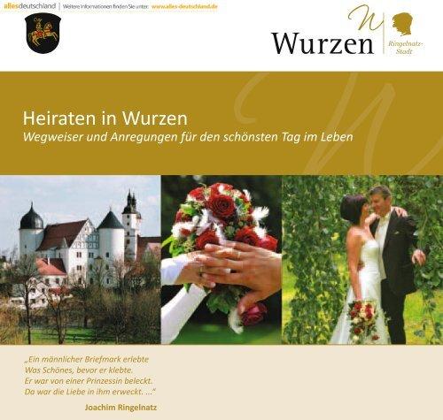 Heiraten in Wurzen