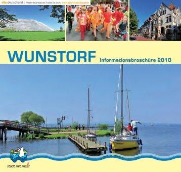 WUNSTORF Informationsbroschüre 2010 - Telefonnummer anzeigen