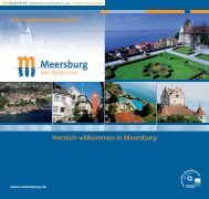 Informationsbroschüre Herzlich willkommen in Meersburg