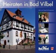 Heiraten in Bad Vilbel - Infos und Tipps für Brautpaare