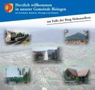 Herzlich willkommen in unserer Gemeinde Bisingen