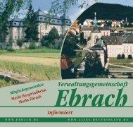 Verwaltungsgemeinschaft Ebrach - Total-lokal.de