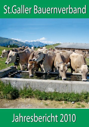 St.Galler Bauernverband Jahresbericht 2010