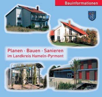 Bauen im Landkreis Hameln-Pyrmont