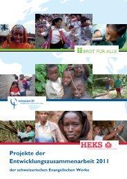 Programme im Ausland und in der Schweiz - Mission 21