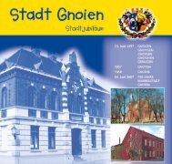 Jubiläumsbroschüre 750 Jahre Stadt Gnoien