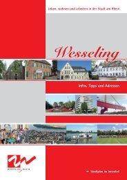 Stadt Wesseling - Infos, Tipps und Adressen - Telefonnummer ...