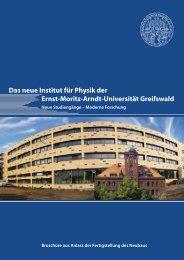 Das Institut für Physik der Universität Greifswald - Total-lokal.de