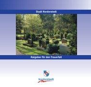 Ratgeber für den Trauerfall Stadt Norderstedt