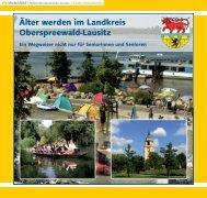 """Ã""""lter werden im Landkreis Oberspreewald-Lausitz"""
