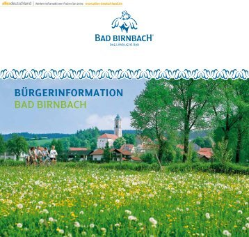 Bürgerinformation BAD BIRNBACH