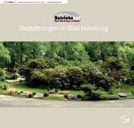 Bestattungen in Bad Homburg