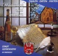 Bürger-Informationsbroschüre der Stadt Geisenheim