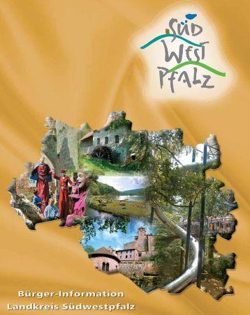 Bürger-Informationsbroschüre des Landkreis Südwestpfalz