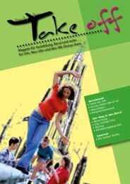 Ready for Take off - Magazin für Ausbildung, Beruf ... - Total-lokal.de