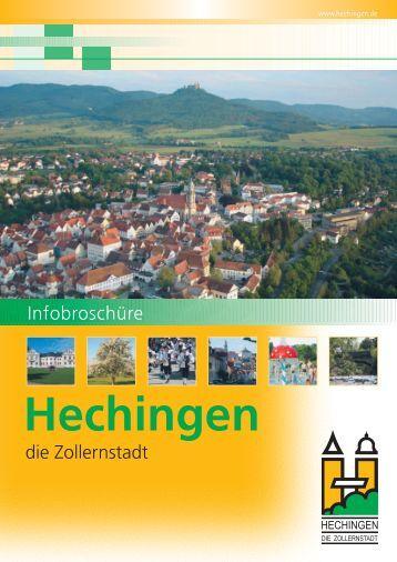 Bürger-Informationsbroschüre der Stadt Hechingen