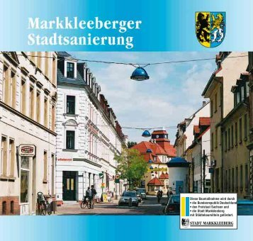 """Das Sanierungsgebiet """"Alt-Markkleeberg"""" - Total-lokal.de"""