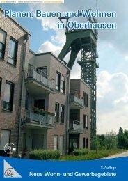 Planen, Bauen und Wohnen in Oberhausen
