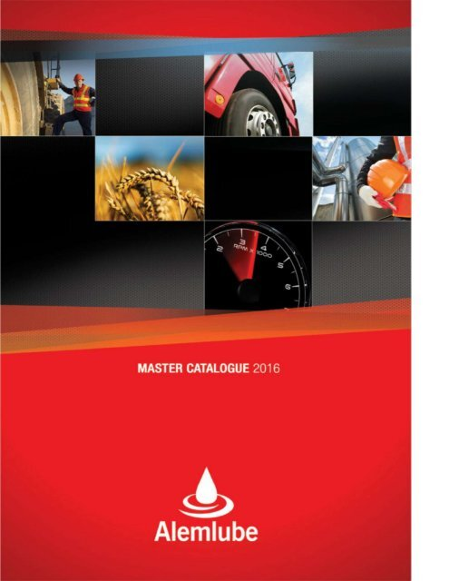 Alemlube Master Catalogue 2016