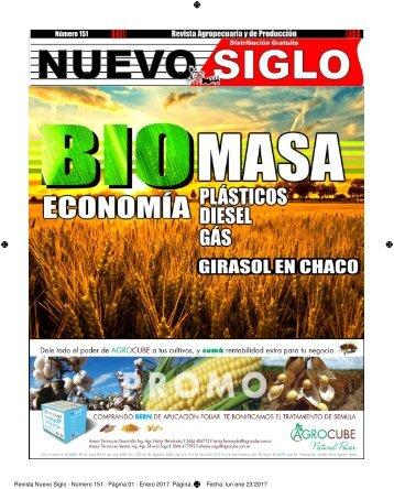 Revista Agropecuaria Nuevo Siglo Número 151 - Enero 2017