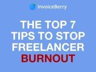Top 7 Tips Stop Freelancer Burnout