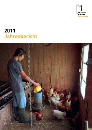 Jahresbericht 2011 - Stiftung Schloss Regensberg