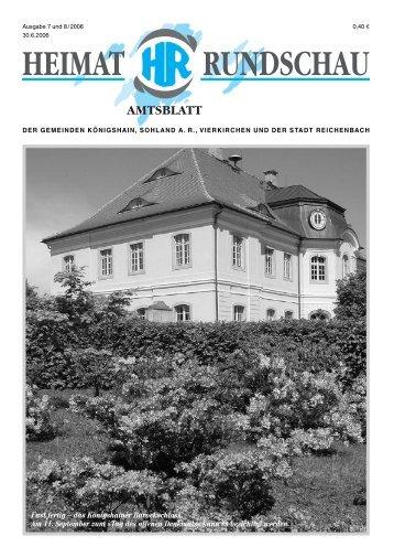 Fast fertig – das Königshainer Barockschloss. Am 11. September zum