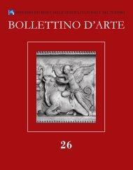 BOLLETTINO D'ARTE 26