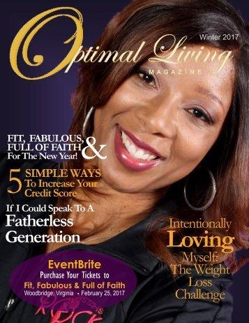 Optimal Living Magazine Fit, Fabulous & Full of Faith Issue