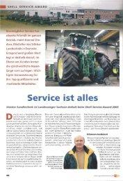 Bestmöglicher Service hat - Stücker Landtechnik GmbH