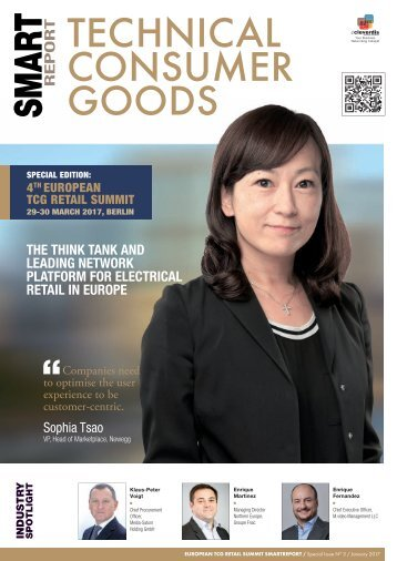 TECHNICAL CONSUMER GOODS SMARTreport