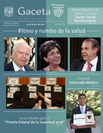 """Inició el Internado Médico """"Premio Estatal de la Juventud 2016"""""""