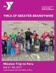 YGBW 2017 Peru Trip Brochure