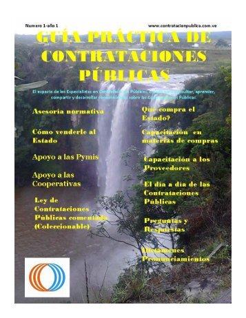GUIA PRACTICA DE CONTRATACIONES PUBLICAS